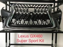 Решетка радиатора GX460 стиль superior TRD