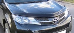 Дефлектор капота темный Toyota RAV 4 2013-