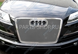 Решетка радиатора Audi Q7 07-11 нерж.