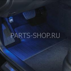 Подсветка пола салона Camry V50
