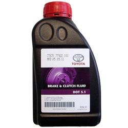 Тормозная жидкость Toyota DOT5.1, 0,5L