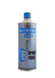 Тормозная жидкость Toyota DOT3/4, 0,5L