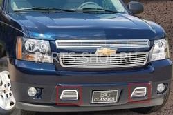 Решетка радиатора Chevrolet 2 шт. (нерж.)