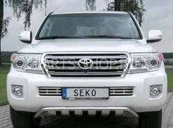 Защита картера на LC200 2012-