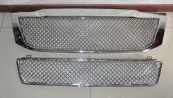 Решетка радиатора и бампера hilux 2012-2015 хром