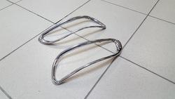Хромированные накладки на задние туманки RX 2003-2009