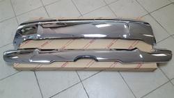 Накладка хром под передний и задний бампера lc200