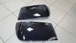 Защита фар тёмная Toyota LC100 98-07