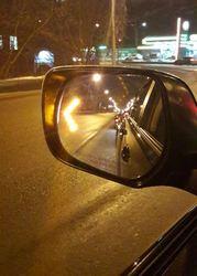 Зеркальный элемент с подогревом и со светодиодным указателем поворота GX460
