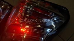 Фонари задние Tundra 07- диодные хромированные Crystal Clear