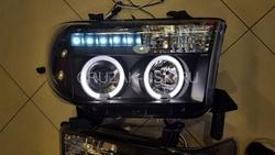 Фары линзовые светодиодные Tundra 07 (комплект)