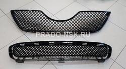 Решетка радиатора и бампера Camry40 2006-09 стиль Бентли (черные)