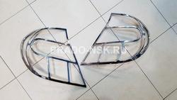 Накладки на задние фонари Camry v30/35