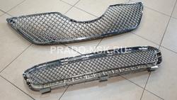 Решетка радиатора и бампера на Camry40 стиль Bentley 06-09