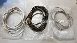 Резинка уплотнительная для обвесов, расширителей (черн., бел., сереб.)