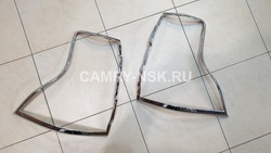 Накладки на задние фонари LC150 2014