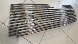 Решетка радиатора Highlander 2014 (полосы из нержавейки)