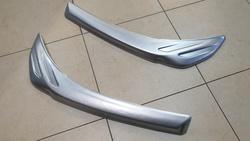Реснички на фары LC200 серебро либо под покраску