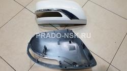 Корпус зеркала land cruiser 200 стиль Executive white