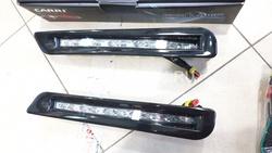 Дневные огни в бампер, губу LX570 Sport Luxury (черн., бел.,)