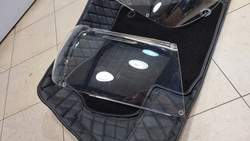 Защита фар  прозрачная Toyota LC100 05-2007