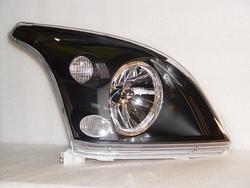 Фары передние черные LC120  с ангельскими глазками