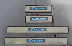 Накладки на пороги cruze с подсветкой
