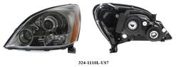 Фары GX470 темный хром дизайн Sport Package