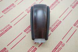Ручка АКПП кожа+дерево LC150