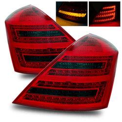 Фонари mercedes w221 диодные, тонированные (комплект)
