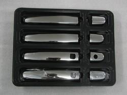 Накладки на дверные ручки rav4 нерж., с отверстием для чипа
