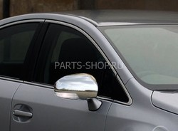 Накладки на зеркала из нерж. Camry ACV40 09-