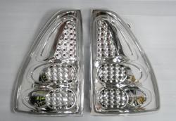 Фонари Prado 120 светодиодные,  полностью хром