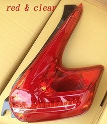 Фонари диодные, новый дизайн, красные juke