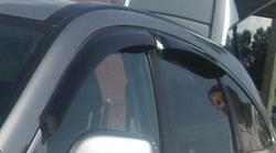 Ветровики Toyota Corolla 2013- темные