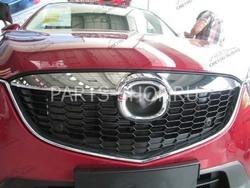 Накладка хромированная на решетку радиатора Mazda CX-5