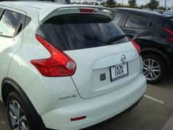 Спойлер на Nissan Juke (разные цвета)
