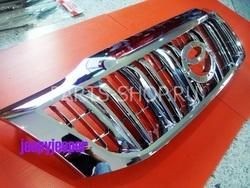 Решетка радиатора хром стиль LC150 на Hilux