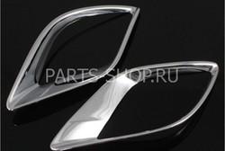 Накладки на задние противотуманные фонари Mazda CX-5