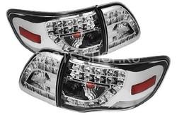 Фонари задние хромированные Corolla 2007-2011
