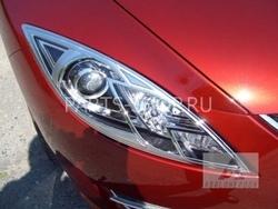Накладки на фары для Mazda 6 2008-