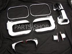 Хромированные накладки на зеркала Hummer 06-09
