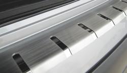 Накладка защитная на задний бампер AluFrost (разные варианты)