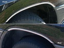 Накладки на колёсные арки lx470 из нерж.