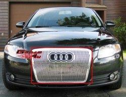 Решетка для Audi A4 05-08'