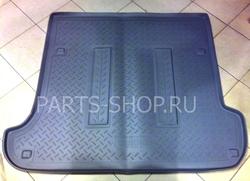 Коврик багажника полиуретановый для LC120 (сер., черн., беж.)