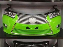 Бампер передний Corolla 2013 стиль Lexus