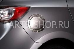Накладка на люк бензобака Mazda 3