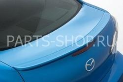 Задний спойлер на Mazda 3 2009-