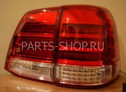 Фонари задние светодиодные LC200 дизайн Mid West (без хромированной окантовки)